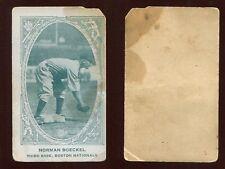 1922 E120 Norman Boeckel Boston ***BLANK BACK***