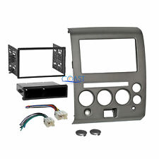 Car Radio Stereo Dash Kit Harness for 2006-07 Nissan Armada Titan with Climate