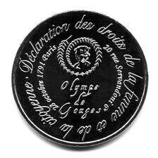 75006 Galerie Olympe de Gouges, Couleur argent, 2015, Monnaie de Paris