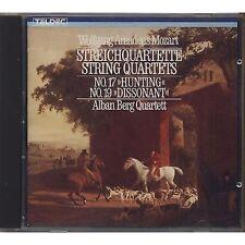 ALBAN BERG QAURTETT - Mozart - Strechquartette - CD 1984 USATO OTTIME CONDIZIONI