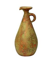 Large Grand Tour Pottery Ancient Italian Roman Greek Ewer Pitcher Jug Vase