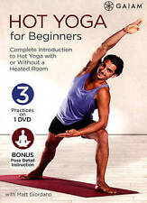 Hot Yoga for Beginners Matt Giordano NEW GIFT QUALITY DVD FREE SHIPPING INCLUDED