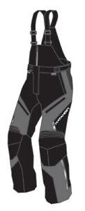Katahdin Gear Men's X2.5 Tall Bib Gray All Sizes