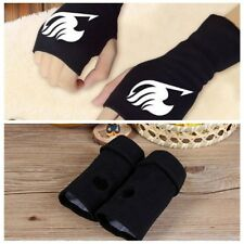 Anime Fairy Tail Cosplay Gloves Warm Fingerless Mitten Cotton Knitted Gloves Hot