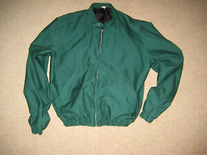 MADE IN ENGLAND MENS BOMBER JACKET SIZE SMALL