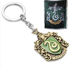 Hogwarts Wizarding Harry Potter school badge Keyring Keychain~Slytherin *