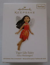 Hallmark 2012 Fairy Messenger Tiger Lily #8 in Series Christmas Ornament