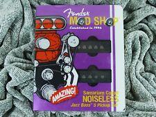 Fender Mod Shop Jazz Bass V 5 String single coil pickup set SCN Noiseless USA
