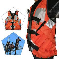 Orange+Black TOOL VEST BAG Carpenter Craftman Construction TOP USA