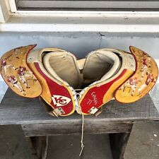 Kansas City Chiefs KC Vtg Football NFL Shoulder Pads 1971 Autographed Thomas +18