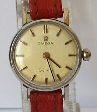 "VINTAGE RARE""OMEGA""ALL STEEL GENUINE SWISS LADIES MECHANICAL WATCH CAL.620 # 499"
