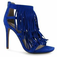 Zip Leather Stilettos Heels for Women