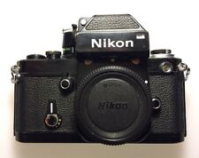 Nikon F2 Photomic Black 35mm Film Analog SLR Camera Body w/ DP-1 Prism