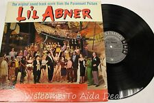 """LIL ABNER The Original Sound-Track Score From The Paramount Picture LP 12"""" (VG)"""