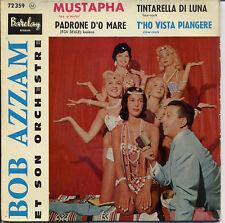 Disque super 45 tours Bob AZZAM Mustapha 1987
