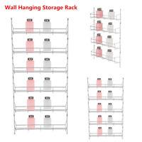 4 5 6 Tiers Kitchen Door Wall Storage Shelf Holder Cabinet Organizer Spice Rack