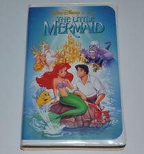 "The Little Mermaid RAREST VHS Disney VHS Black Diamond ""WALT DISNEY SIGNATURE"""
