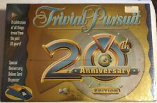 TRIVIAL PURSUIT 20TH ANNIVERSARY EDITION FAMILY BOARD GAME NEW & SEALED