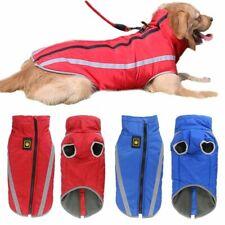 Large Dogs Coat Winter Warm Waterproof Reflective Golden Retriever Pitbull Vest