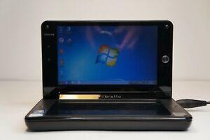 Toshiba Libretto W100 (Pentium P5400) Double Screen Laptop