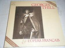 Sealed 5 Cassette Box GEORGES THILL L'Opera Francais France EMI 2901935 Mono