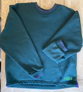 Cubs Uniform Jumper Size 30 Green Sweatshirt BNWOT