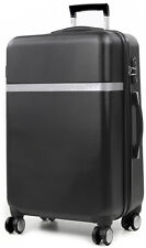 "Calvin Klein Harrison Collection 22"" Hardside Spinner Carry On Luggage - Black"