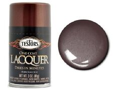 Testors Root Beer One Coat Lacquer Spray Paint Can  3 oz.  1848