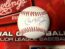 CAL RIPKEN JR BALTIMORE ORIOLES Autographed OFFICIAL MLB Baseball Jsa COA