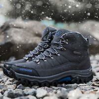 Men's Hiking Boots Snow Climbing Shoes Casual Breathable Athletic Winter Outdoor