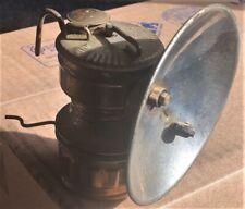ANTIQUE VINTAGE GUYS DROPPER CARBIDE COAL MINER'S LAMP