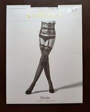 New La Perla Suspender Stockings Desire Stockings Size S White