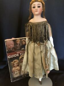 """Rare, 15"""" Simon Halbig 1160 Bisque, CabInet Size Lady Doll, Beautiful!"""