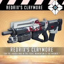 Destiny 2: Redrix's Claymore | PS4 & PC