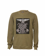 Diesel Crew Neck Long Sleeve Casual Shirts & Tops for Men