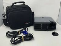 Optoma EP716 2000:1 1800 ANSI Lumens DLP Video Projector w/ Lamp *No Remote*