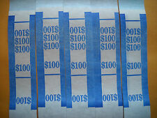 100 currency straps bands USA $1 bills