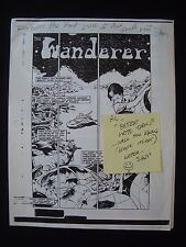 The Wandering Star Ashcan Prototype only know copy to exist Sam Keith Signed +