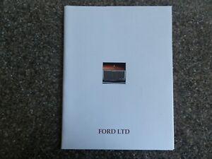 FORD LTD 1976 (P6) BROCHURE