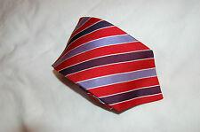 Joseph & Lyman Multi-color Red/Blue /Purple Silk Tie Made in USA