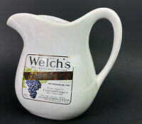 Vintage Mccoy Pottery # 365 Welch's Grape Juice Advertising Pitcher 1 quart
