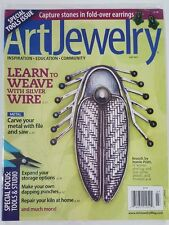 Art Jewelry Learn to Weave Silver Wire Storage Option July 2015 FREE SHIPPING JB