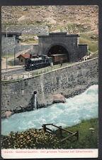 Switzerland Postcard - Gotthardbahn; Der Grosse Tunnel Bei Goschenen RT595