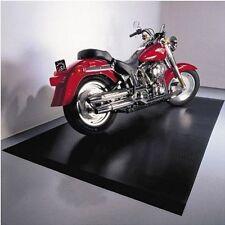Motorcycle Floor Mat 5 ft x 10 ft Black Protector Rubber Flooring Garage Pad New
