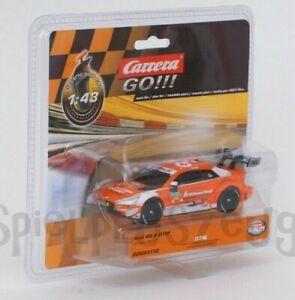 """Carrera GO !!! 64112 Audi RS 5 DTM """"J.Green, No.53"""" Maßstab 1:43 NEU"""