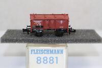 n2590, RAR Fleischmann 8881 Klappdeckelwagen Bad.St.B BOX Spur N mint