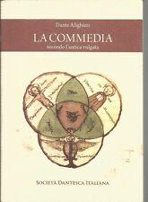 (Dante Alighieri) La commedia secondo l'antica vulgata copia di 3000 esempl.f.c.
