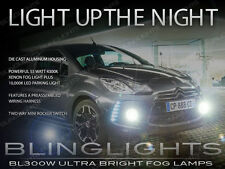 Citroën DS3 Xenon Halogen Fog Lamps Driving Lights Kit Set Pair + Harness Switch