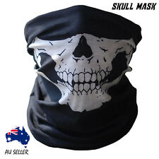 Motorcycle Mask Half Face Biker Skull Ski Halloween Party Winter Warm Facemask