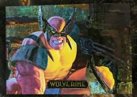 1994 Marvel Masterpieces - Power Blast Subset Card - 9 of 9 Wolverine